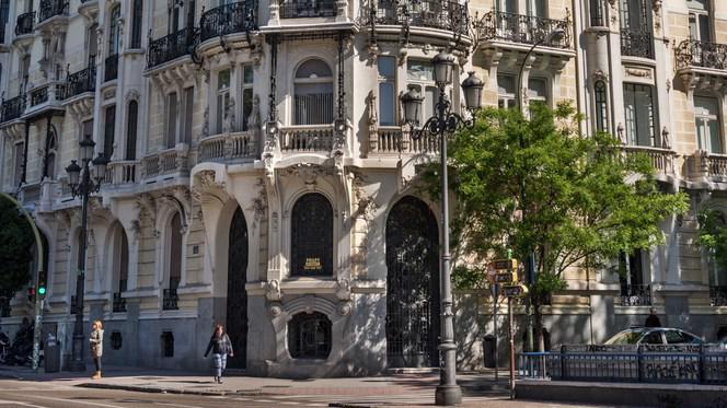 Fachada - El Club Allard, Madrid