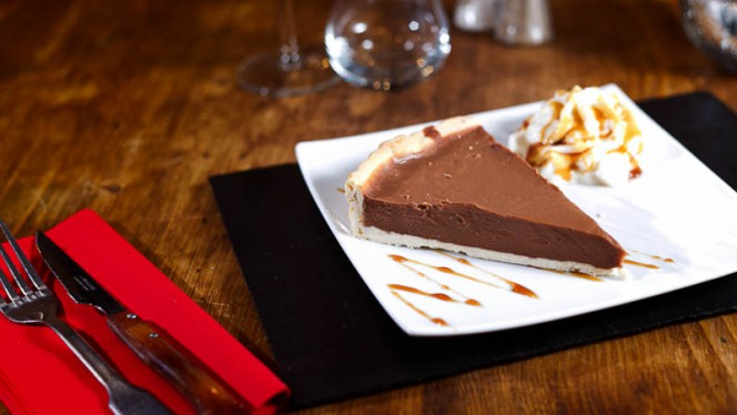 tarte chocolat caramel - Le Ch'ti Charivari, Lille