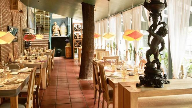 Vista de la sala - WareHouse@TheHClub, Madrid