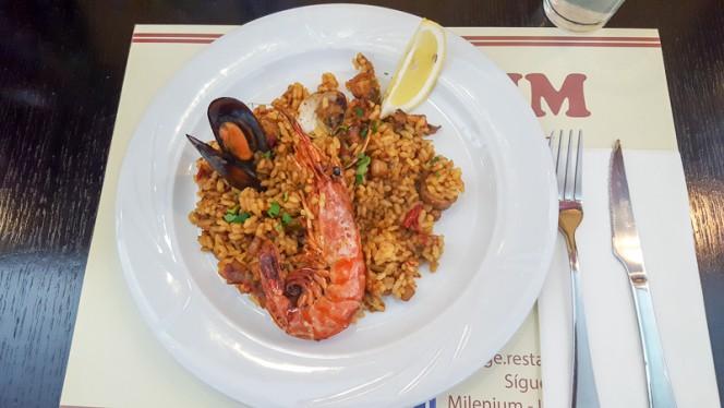 Sugerencia del chef - Milenium, Barcelona