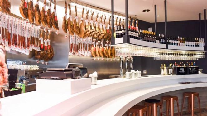 Sala do restaurante - Beher Porto, Porto