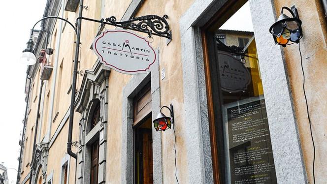 La entrata - Casa Martin, Turin