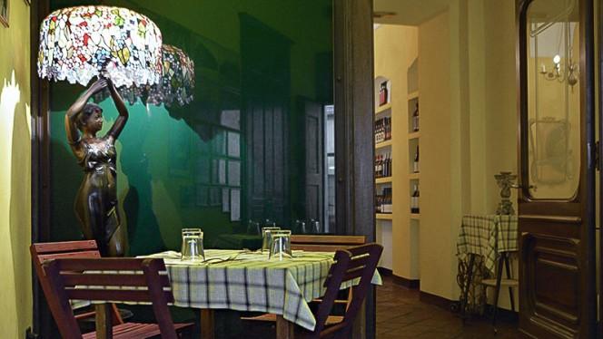 Particolare sala - Casa Martin, Turin