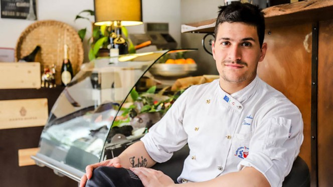 Chef Fabio Titone - All'Origine, Milan