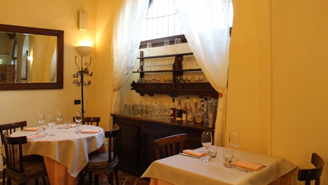 Vista della sala - Trattoria Ressi, Pavia