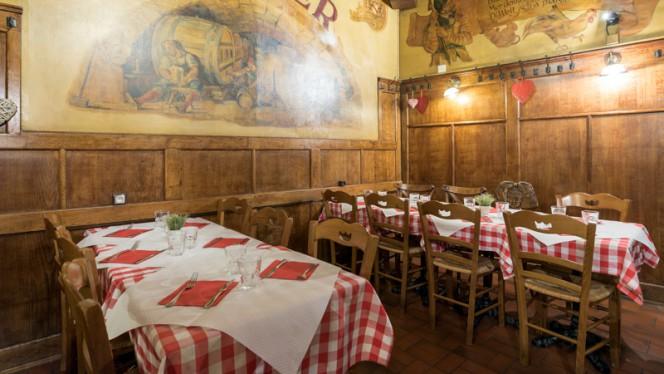 Salle de restaurant - Aux Armes de Strasbourg, Strasbourg