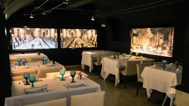 Sala del restaurante - Palacio de Anglona, Madrid