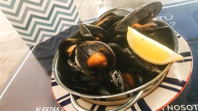 Mejillones al vapor - Fish&go! Freiduría, Sabadell