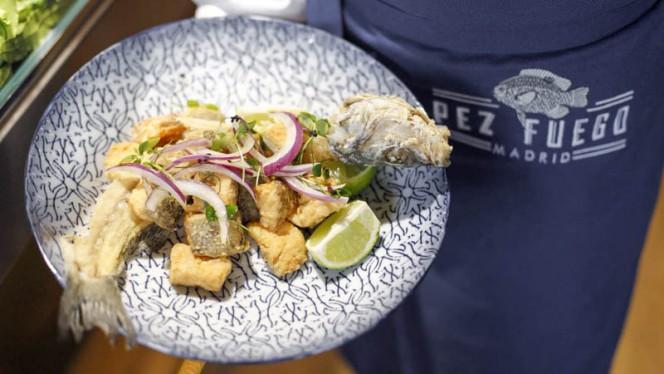 Sugerencia del chef - Pez Fuego, Madrid