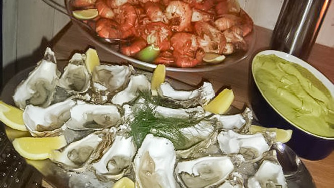 Chef's suggestion - Oyster Bar, Stockholm