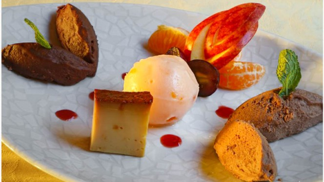 Suggestion dessert - Auberge de la Foret, Vendenheim