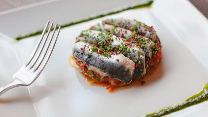 Marinade de sardines - A Casaluna, Paris