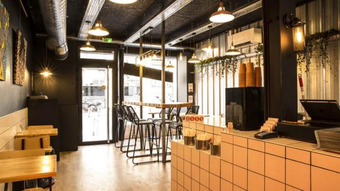 Vue de la salle - Osè African Cuisine St-Lazare, Paris