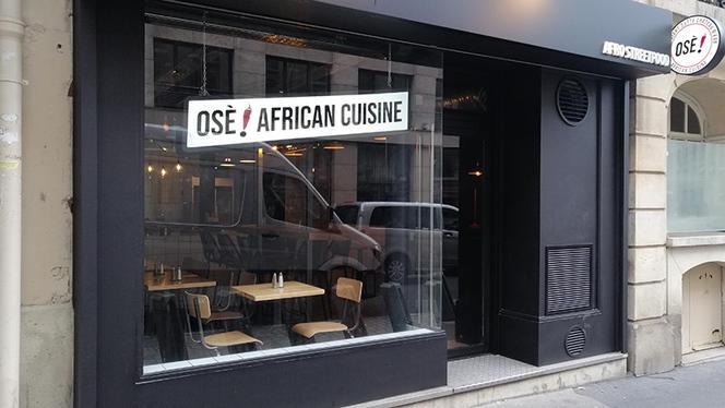 Vue extérieure du restaurant - Osè African Cuisine St-Lazare, Paris