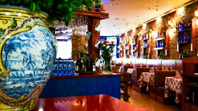 sala do restaurante - Il Giardinetto, Lisbon