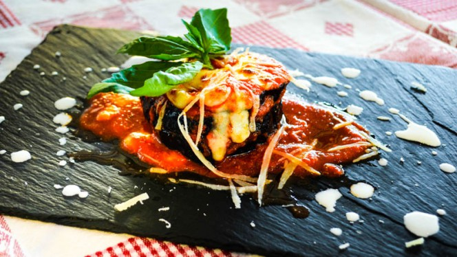 sugestão prato - Il Giardinetto, Lisbon