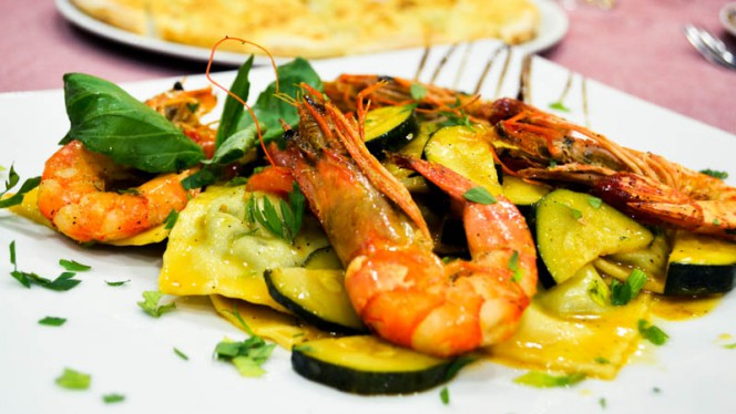 sugestão prato peixe - Il Giardinetto, Lisbon