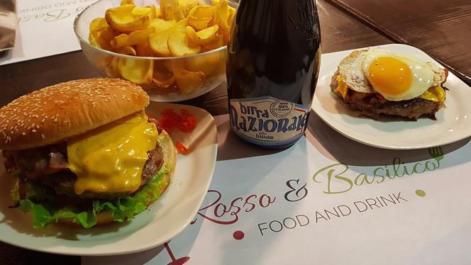 hamburger patate birra - Rosso & Basilico, Busto Arsizio