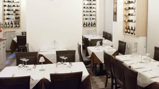 Vista sala - Il Piccolo Mondo Ristorante Pizzeria-MILANO-, Milan