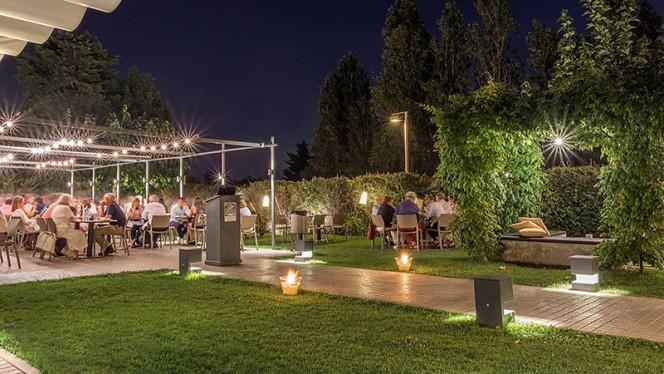 Zona cocktail - El Jardi de L'Abadessa, Barcelona