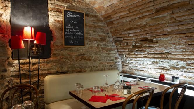 Tables dressées - Le Cri de la Truffe, Toulouse