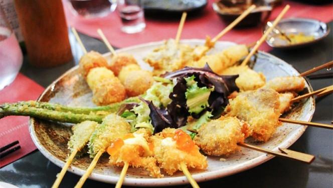 Sugerencia del chef - Ageyoka, Fritos de Osaka, Madrid
