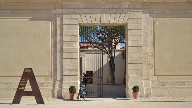 Devanture - Café Borély, Marseille