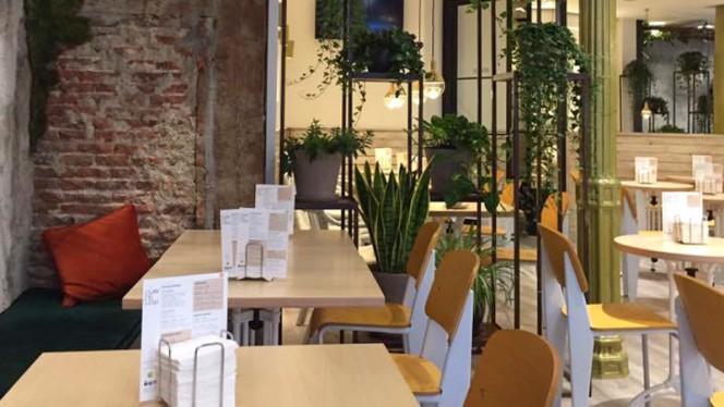 Sala - El Patio Vertical Café, Madrid
