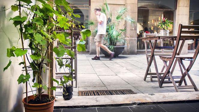 detalle exterior - La Santa del Born, Barcelona