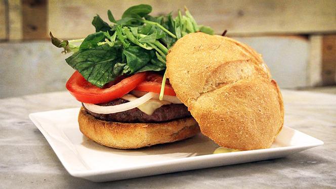 sugerencia hamburguesa 1 - La Santa del Born, Barcelona