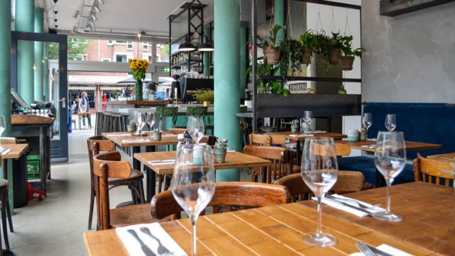 Het restaurant - Visbar Beet, Amsterdam