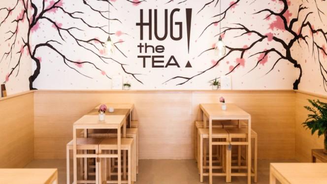 Sakura blossom wall - HUG THE TEA, Den Haag
