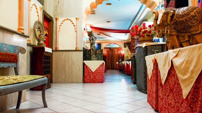 L'ingresso alla sala - Ganesha India - Ristorante Indiano, Rome