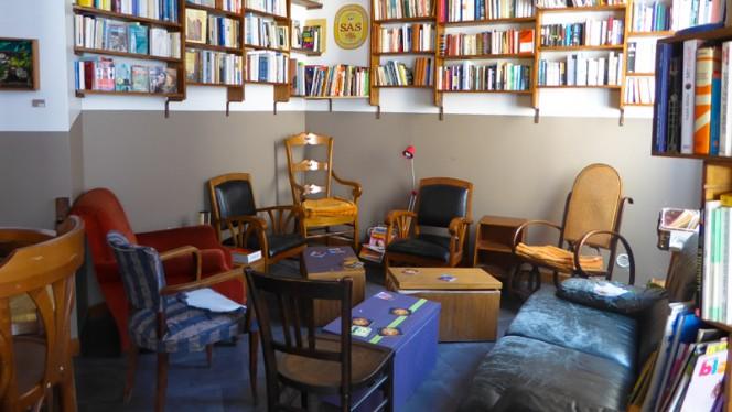 Salle livres - La Patronne, Lille