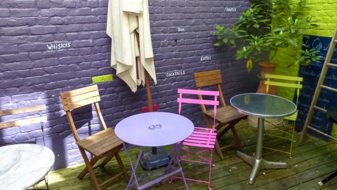 Terrasse intérieur - La Patronne, Lille