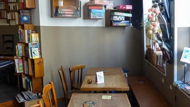 Vue des tables - La Patronne, Lille