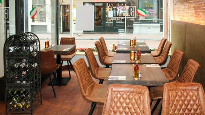 Het restaurant - BURRATA, Amsterdam