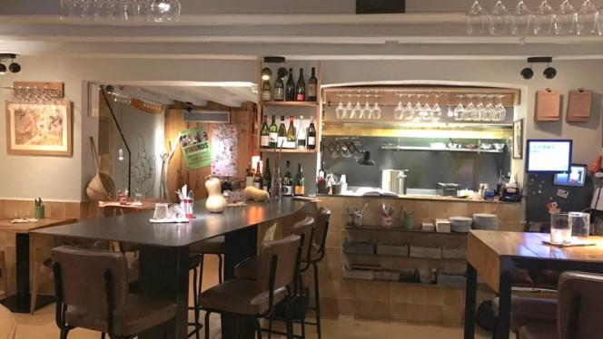 Sala del restaurante - Cometa Pla, Barcelona