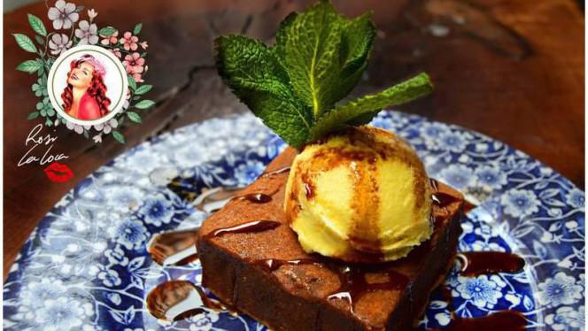 Brownie de chocolate - Rosi La Loca Taberna, Madrid