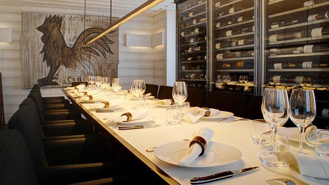 Table dressée - Le Coq Rico, Paris