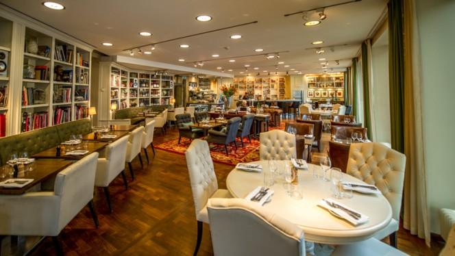 the restaurant - Lydmar Restaurang, Stockholm