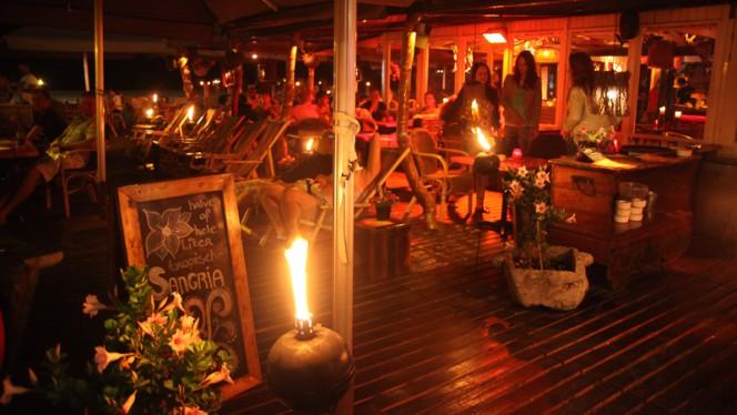 Het restaurant - Zanzibar Beachclub, Den Haag
