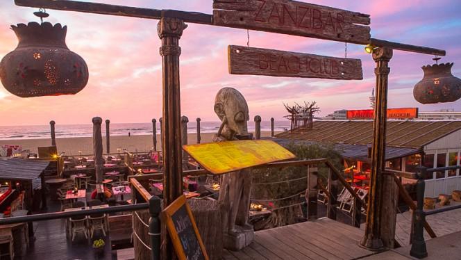 Ingang - Zanzibar Beachclub, Den Haag