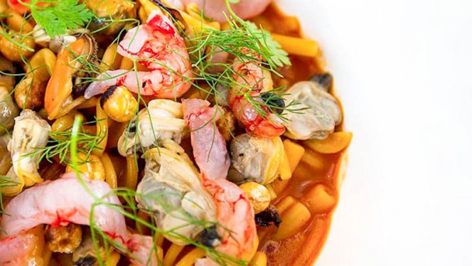 Pasta mista risottata ai frutti di mare - Brutti di Mare, Milan