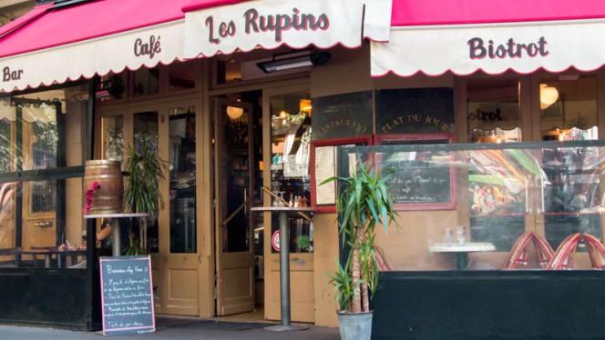 Devanture - Les Rupins, Paris