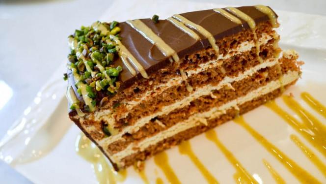 Torta al cioccolato con crema di pistacchio - Il Pentolino, Torino