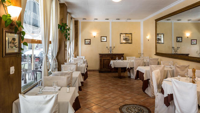 Salle du restaurant - Il Ritrovo, Genève