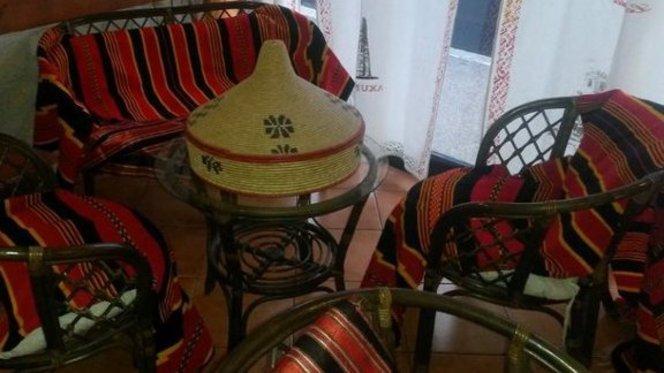 salottino tipico eritreo - Zighini, Rome