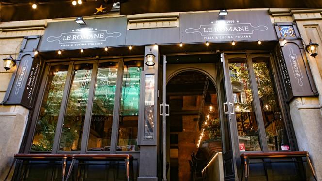 Entrada - Le Romane, Barcelona