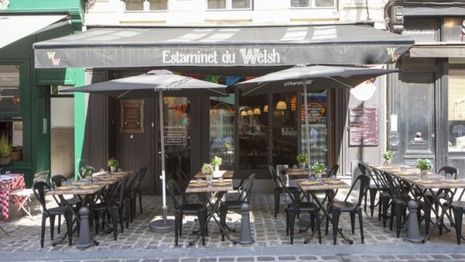 Devanture - Estaminet du Welsh, Lille